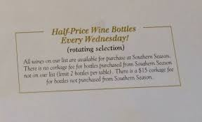 Southerly Restaurant And Patio Richmond Va by Happy Hour Of The Week Southerly Wine Wednesday In Rva The