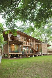 100 House In Nature A Bamboo Embraced By Bamboo Architecture In