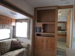 5th Wheel Campers With Bunk Beds by 2006 Cougar 314efs 35ft 1 Slide With Three Bunks Fifth Wheel For
