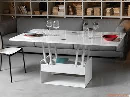 table basse transformable sur idee deco interieur en hauteur