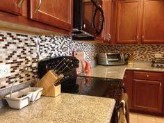 Harmony Mosaik Smart Tiles by Peel N Stick Backsplash Home Depot Kitchen Pinterest Home