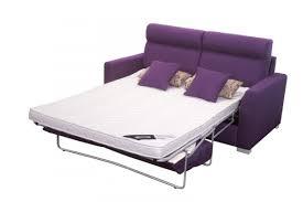 canape convertible violet matelas sur mesure pour petit canapé convertible le monde du
