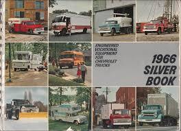 100 Dealers Truck Equipment 1966 Chevrolet Silver Book Special Dealer Album