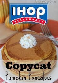 Pumpkin Pancakes With Gluten Free Bisquick by Copycat Ihop Pumpkin Pancakes Isavea2z Com