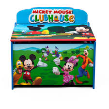 Disney Garden Decor Uk by Delta Children U0027s Products Disney Mickey Mouse Deluxe Toy Box