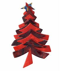 Pre Internet Kathy Spent 10 Years Searching For A Christmas Tree Pin Designed By The Cult Paris Jewelry Designer Lea Stein B1931 Who Is Well Known