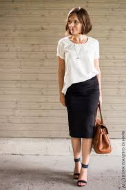 best 25 black pencil skirt ideas on pinterest fitted