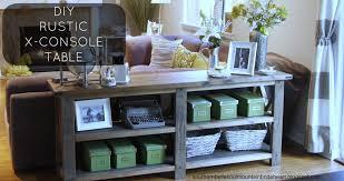 sofa nice diy sofa table ana white sofatable diy sofa table ana