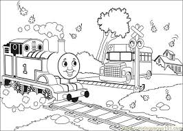 Thomas And Friends 30 Coloring Page