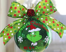 The Grinch Christmas Tree Star by Grinch Etsy
