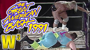 Wcw Halloween Havoc 1991 by Wcw Great American Bash 1991 Review Wrestling With Wregret Youtube