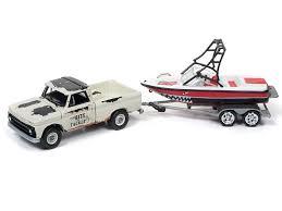 Amazon.com: 1965 Chevrolet Pickup Truck Light Cream With Mastercraft ...