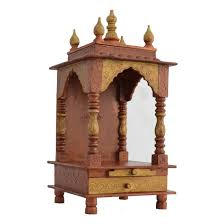 Buy Home Temple/ Office Temple/ Wooden Temple / Office Mandir ... House Plan Wooden Mandir Temple Design For Home Awesome Marble Best 25 Puja Room Ideas On Pinterest Design Pooja Small Images Decorating Planning To Redesign Your Read This First Renomania Beautiful Modern Designs Gallery Amazing At Interior Mandir Stunning Of In Ooja Pinteres