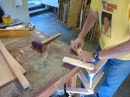 Free Wooden Folding Step Stool Plans by Make A Folding Step Stool Youtube