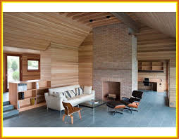 The Best Contemporary Living Room With Slate Flooring Pict Of