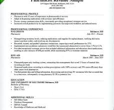 Example Of Pharmacist Resume Download Community Objective