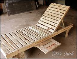 Outdoor Chaise Lounge Made From Old Deck Boards I Seriously Cant Get Enough Of The DIY Furniture