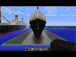 Minecraft Titanic Sinking Map by Minecraft Titanic Sinking In Reverse 100 Images Benryderz