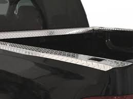 k w diamond plate straight bed rails for 73 87 chevy and gmc ck