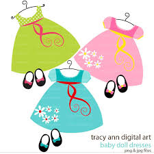 Dall Clipart Doll Clothes 3
