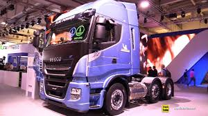 100 Iveco Truck 2019 Stralis NP460 LNG Tractor With 750km Range Walkaround