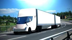 100 Semi Truck Trailers Tesla With Trailer 2019 Euro Simulator 2 Mod
