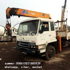High Quality 5 Ton Truck Crane For Sale/boom Crane/ Dump Truck Crane ...