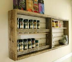meuble cuisine palette meuble a epices cuisine etagere palette idee meubles palettes