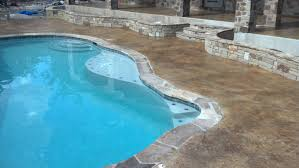 pool deck resurfacing our work easter concrete construction