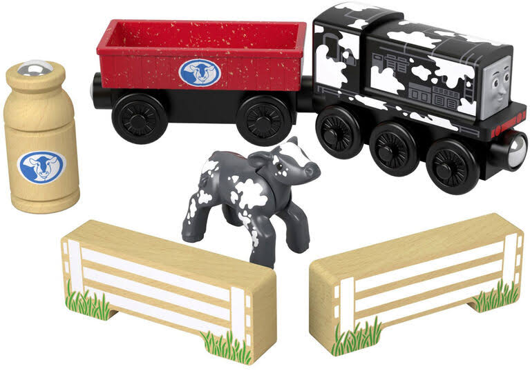 Fisher Price Diesel's Dairy Drop Off - Thomas and Friends Wooden