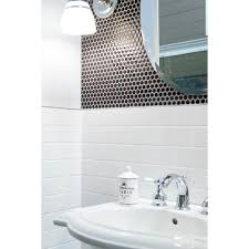 bright white subway ceramic wall tile 3 x 6 914100887