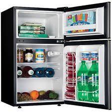Dorm Room Refrigerator College Food Beverage Mini Fridge Freezer