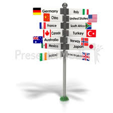 Travel The World Sign PowerPoint Clip Art