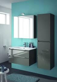 allibert badmöbel badmöbelset vormontiert grau