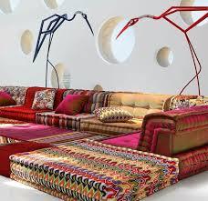 canapé style indien canap style best canap style baroque pas cher avec salon en bois