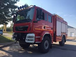 MAN TGM 13.290 Einzelbereifung 4x4 Fire Truck From Germany, Sale ...
