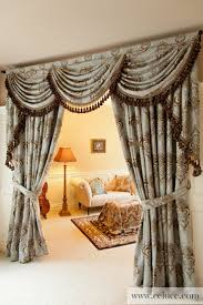 Swag Curtains For Living Room by Decorations Swag Valances Black Window Valances And Swags