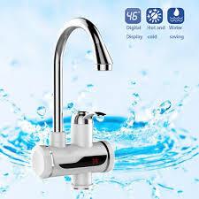 Elektrischer Wasserhahn Durchlauferhitzer 3000w Armatur Waschbecken Waschtische Led Elektrisch Wasserhahn Sofort