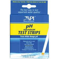 ph aquarium eau douce api api ph aquarium test strips for fresh saltwater aquariums