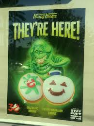 Krispy Kreme Halloween Donuts 2015 by The 30th Anniversary Ghostbusters Donuts Have Arrived At Krispy