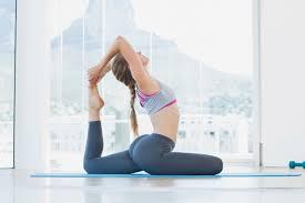 Yoga Pose Pigeon