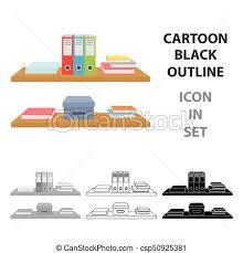 arriere plan de bureau animé dossiers style illustration bureau étagères symbole