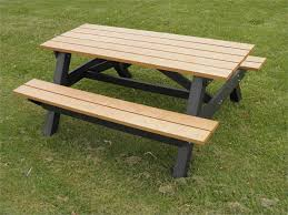 great 6 ft picnic table 6 ft redwood picnic table with separate
