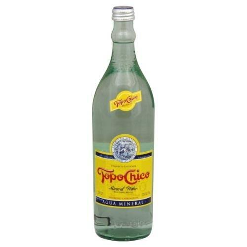 Interex Corp Topo Chico Mineral Water - 25.4oz