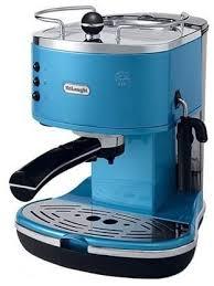 Delonghi Espresso Coffee Maker Blue Color ECO310B