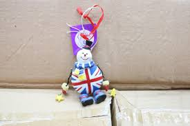 Ebay Christmas Tree Decorations by Wholesale Auction New Wholesale Bulk 96 X Union Jack Snowman