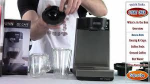Bunn My Cafe Mcu Review Brilliant Amazon Com BUNN MCU Single Cup Multi Use Home Coffee Brewer Inside 1