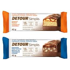 Detour Simple Protein Bars Variety Pack 14 X 43 G 15 Oz