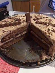 kinderschokolade torte kinderschokoladen torte rezept