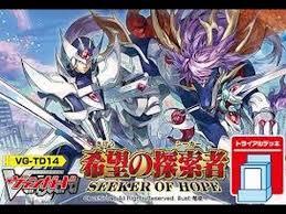 cardfight vanguard trial deck 14 seeker of hope 希望の探索者
